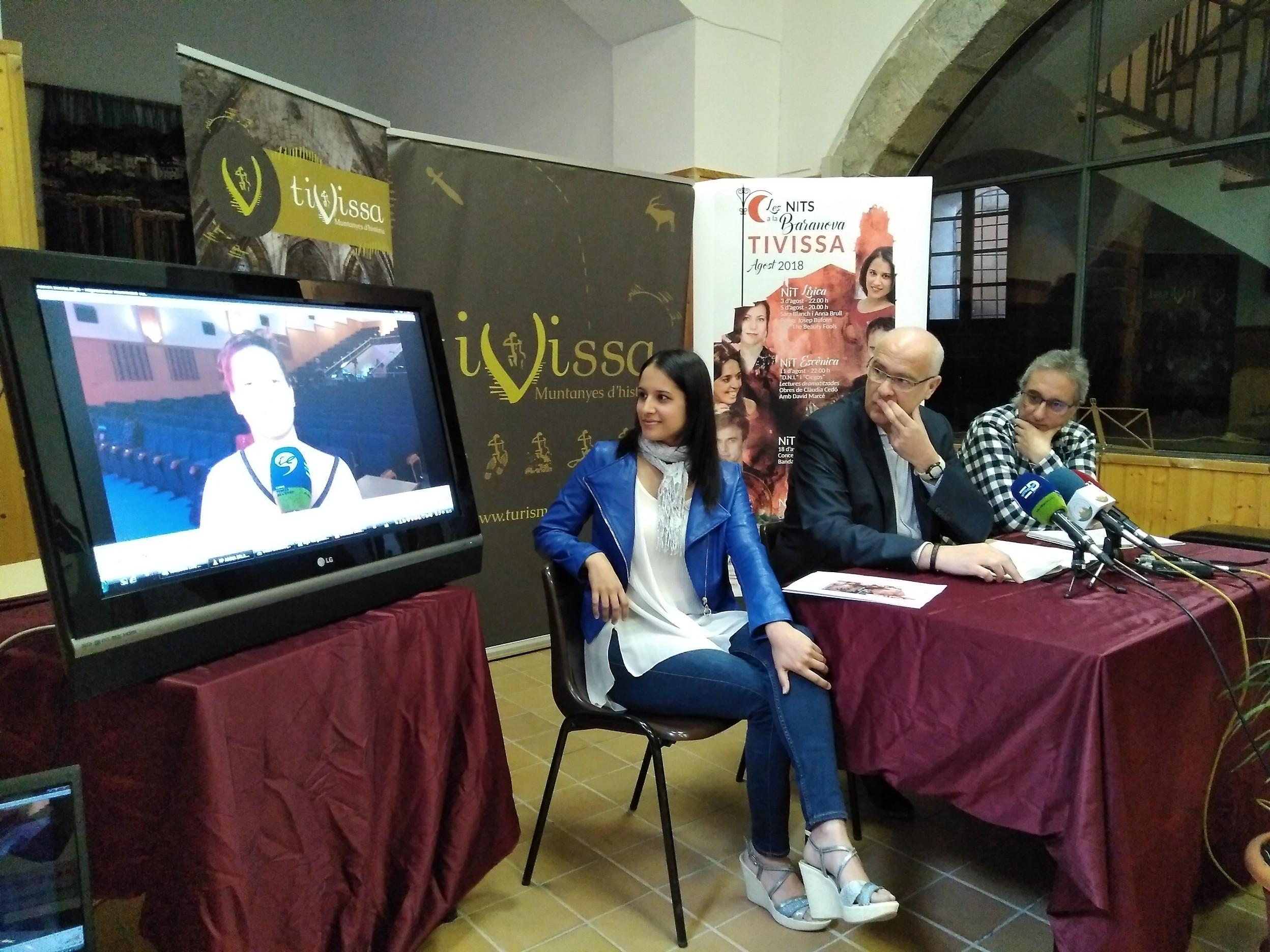 L'Ajuntament de Tivissa presenta la programació i les novetats de la cinquena edició de 'Les nits a la Baranova'