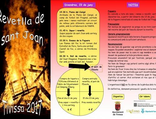 Revetlla de Sant Joan 2017