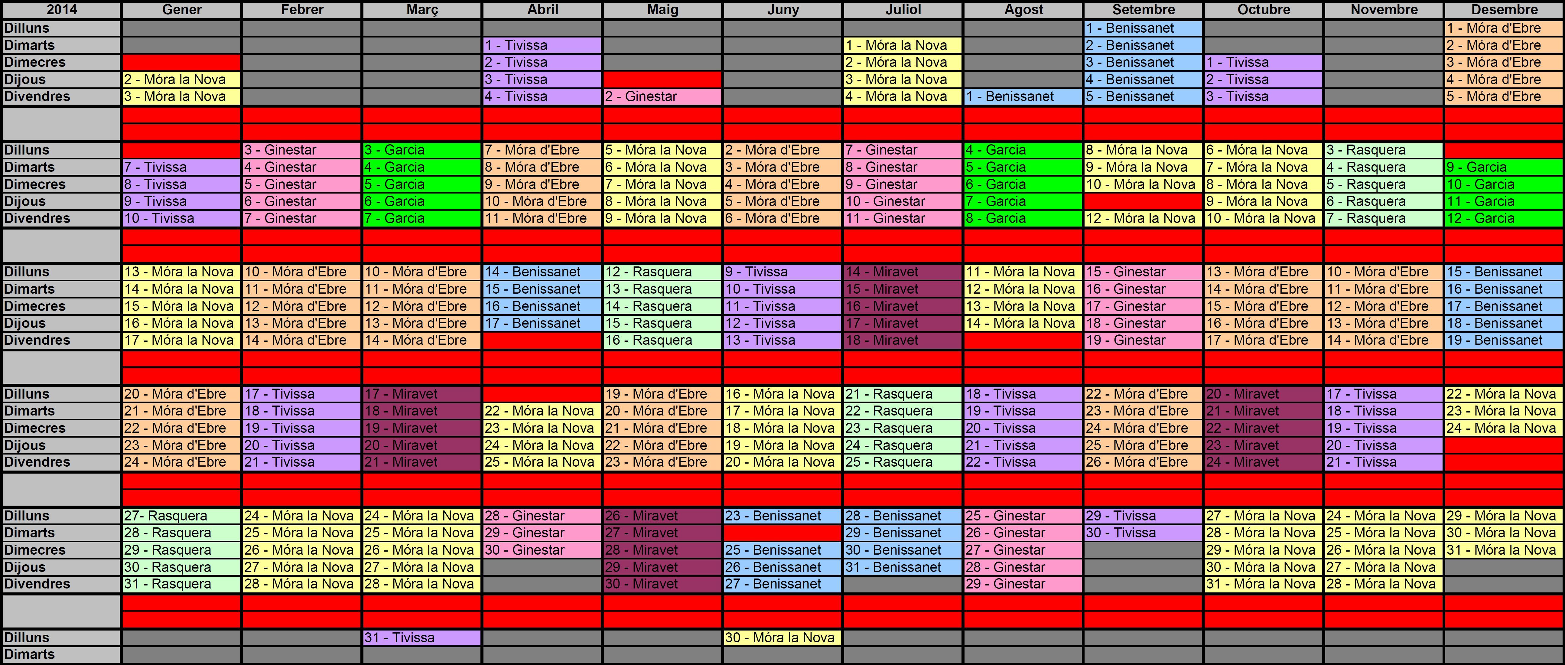 calendarifarmacies2014