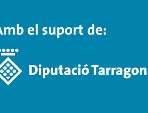 Subvenció de la Diputació de Tarragona de 2.168,10€